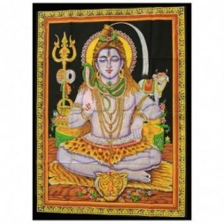 Indian Wall Art Print - Sitting Shiva