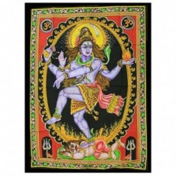 Indian Wall Art Print - Dancing Shiva