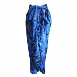 Bali Gecko Sarong - Blue