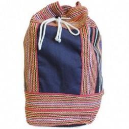 Nepal Duffle Bag - Blue Panel