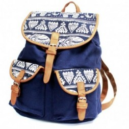 Traveller Backpack - Blue Elephant