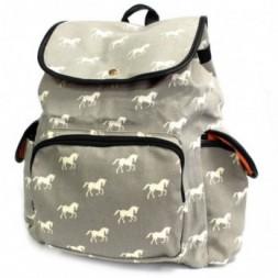 Traveller Backpack- Multi Horses