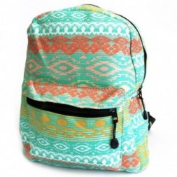 Day Backpack - Teal Pastels