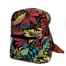 Jungle Bag - Small Backpack - Black-Orange