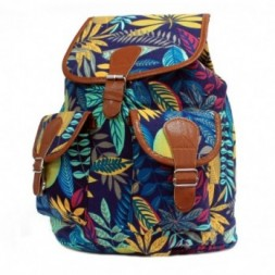 Jungle Bag - Big Backpack - Blue-Teal
