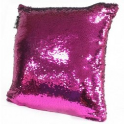 2x Mermaid Cushion Covers - Violet and Silver