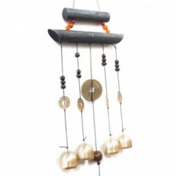 Feng Shui Chimes - Happy Home 4 Bells and Coin
