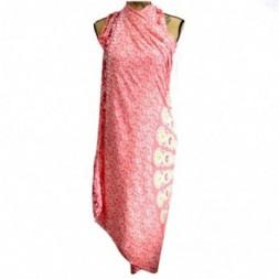 Pink Rose Mandala Sarong
