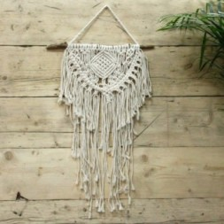 Macrame Wall Hanging - Home and Heart