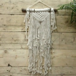 Macrame Wall Hanging - Natural Abundance