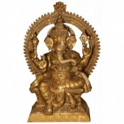 Ganesha Large Brass  Statue