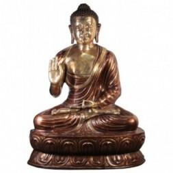 Buddha Vitarka Mudra Brass Large Statue