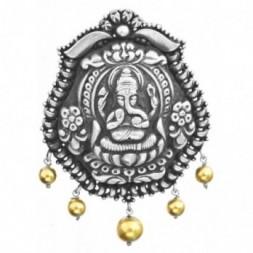 Bhagawan Ganesha Silver Pendant