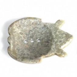 Large Soapstone Dish - Frog