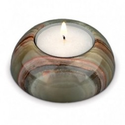 Onyx tea light Holder Short
