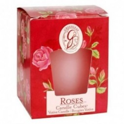 Roses Greenleaf Votive Candle