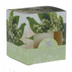 Lily of the Valley Heart and Home Votive Candle
