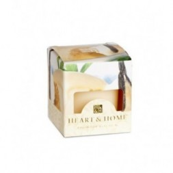 French Vanilla Heart and Home Votive Candle