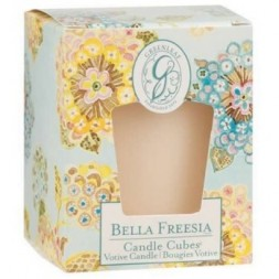 Bella Freesia Greenleaf  Votive Candle