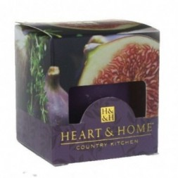 Mediterranean Fig Heart and Home Votive Candle