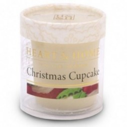 Christmas Cupcake Heart and Home Votive Candle