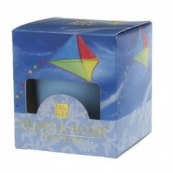 Cerulean Sky Heart and Home Votive Candle