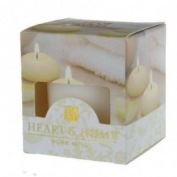 Cotton Soft Heart and Home Votive Candle