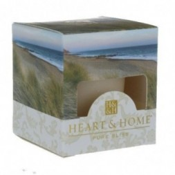 Sea Grass Heart and Home Votive Candle