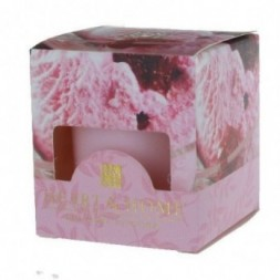 Strawberry Ice Cream Heart and Home Votive Candle