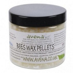 Beeswax White Pellets - 1kg
