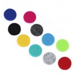 Aromatherapy Necklace Reusable Refill Pad x10 - 25mm