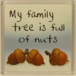 My family tree is full of nuts Fridge Magnet