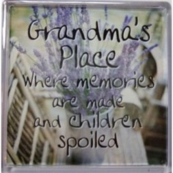 Grandma's Place Where memories are made... Fridge Magnet