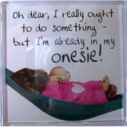 Oh dear, I really ought to do something... Fridge Magnet