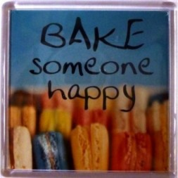 BAKE someone happy Fridge Magnet