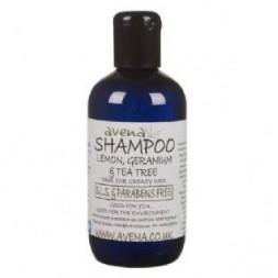 Lemon, Geranium and Tea Tree Shampoo 500ml
