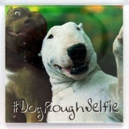 Dog Rough Selfie Fridge Magnet